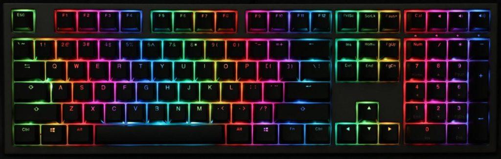 Ducky Shine 7 Mechanical Keyboard Review